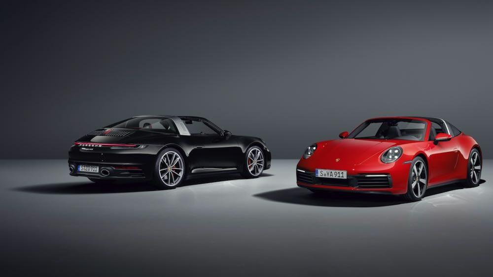 新型ポルシェ 911 タルガ 2台