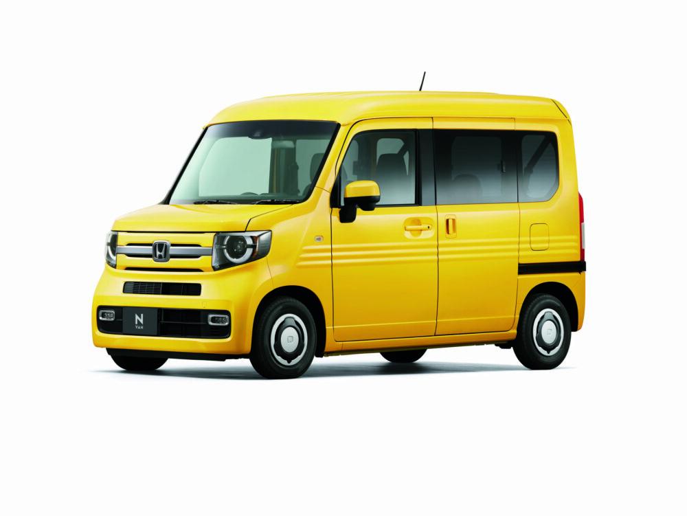 商用車としてはじめて助手席ピラーレスドアを採用したホンダ N-VAN