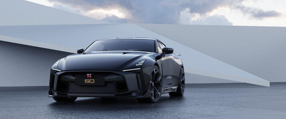日産 GT-R 50 by イタルデザイン プロトタイプ フロント