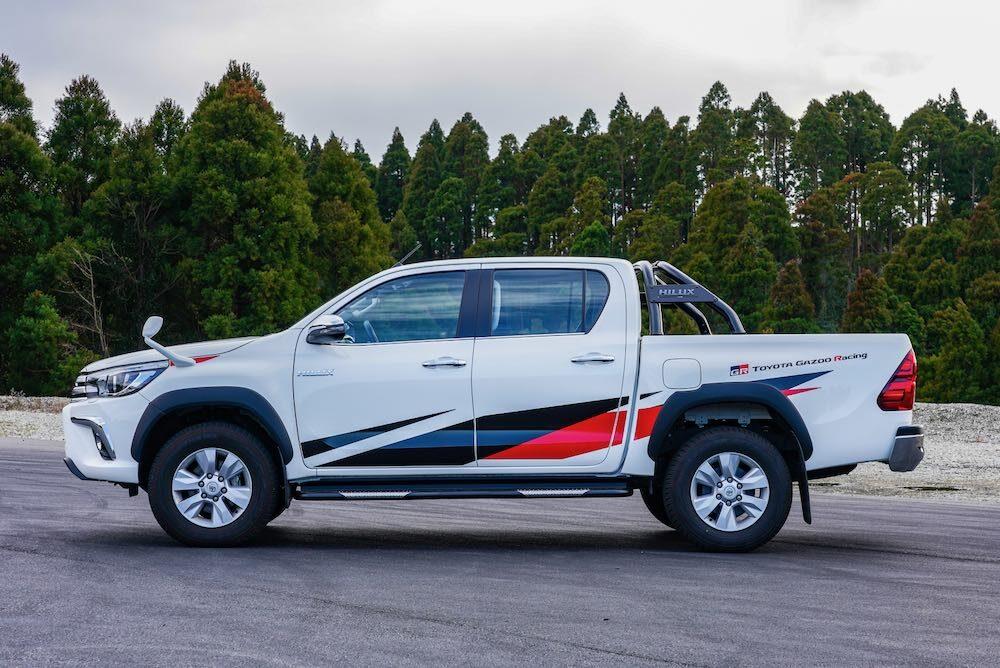 トヨタ ハイラックス GRGコンセプト ボディサイド
