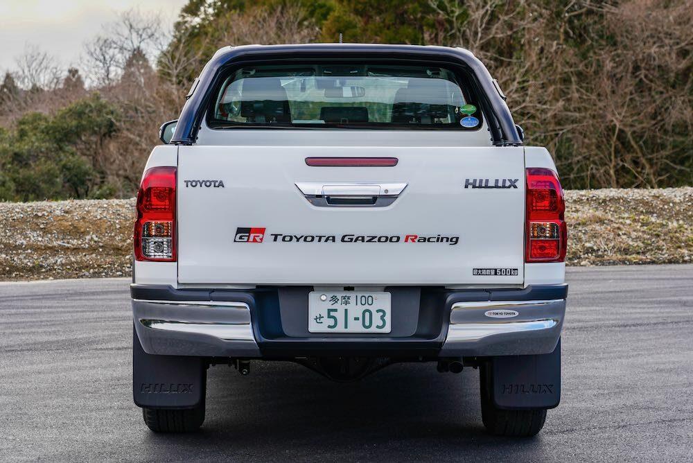 トヨタ ハイラックス GRGコンセプト リア
