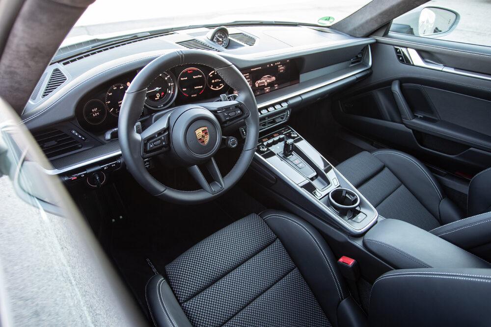 ポルシェ 911 カレラ Sのインテリア