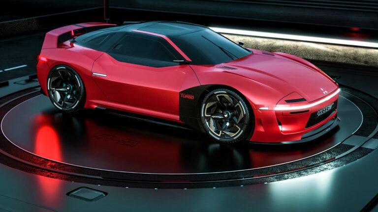 三菱GTO復活新型「4000GT」が登場か!デザイン予想CGを入手