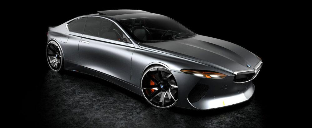 復活新型6シリーズクーペ デザイン予想CG フロントとボディサイド