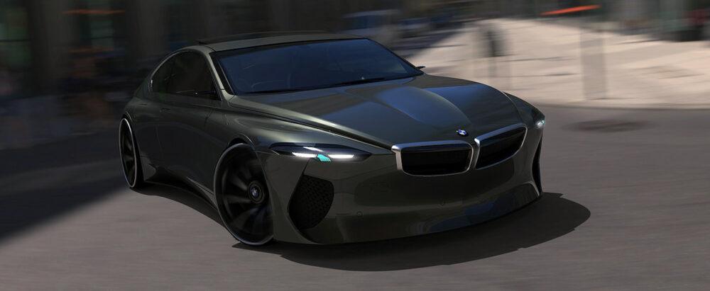 復活新型6シリーズクーペ デザイン予想CG フロント