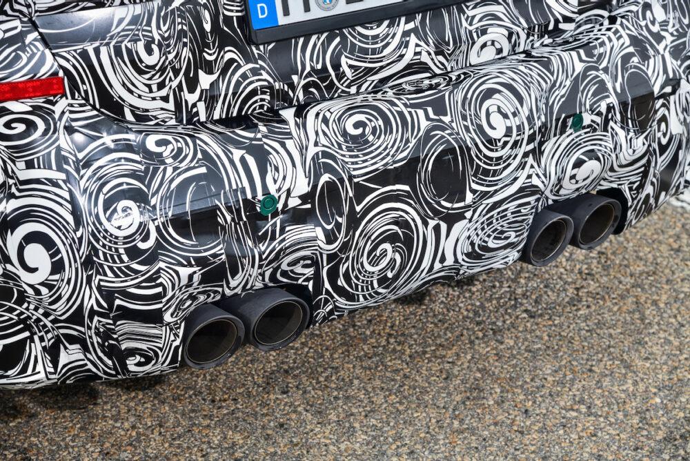 次期新型 BMW M4 公式リーク リアエンド