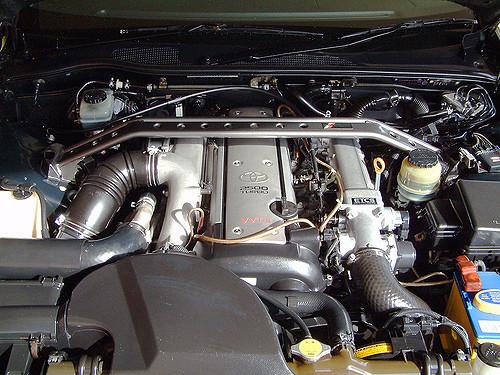 1JZ-GTEのエンジン
