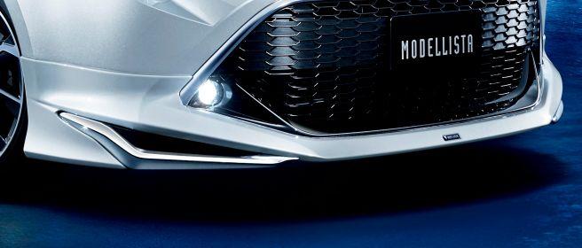新型カローラスポーツ モデリスタ フロントスポイラー