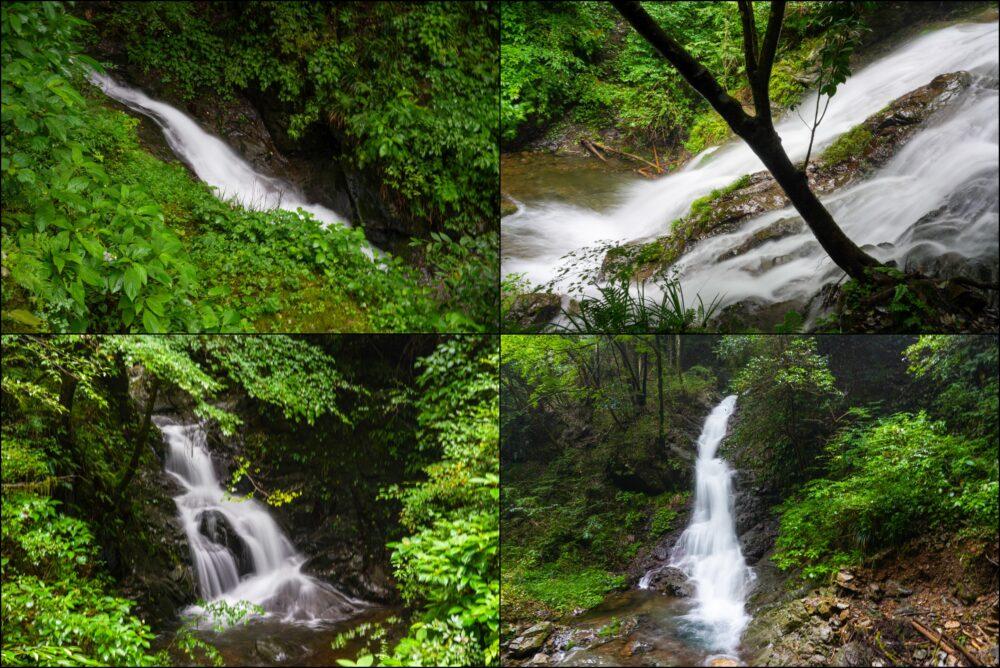 タルクボ沢、白岩滝4つ