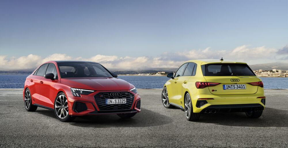 新型 アウディ S3 セダンとスポーツバック