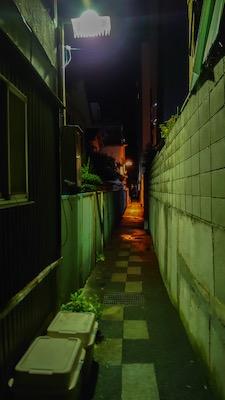 松本市の路地