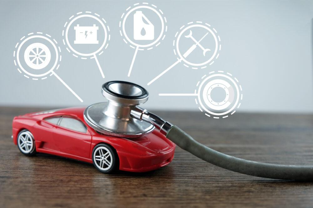 車と聴診器