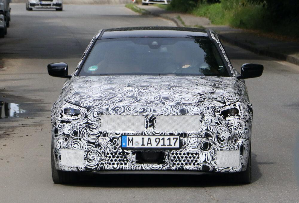 次期新型BMW 2シリーズクーペ プロトタイプ スパイショット フロント