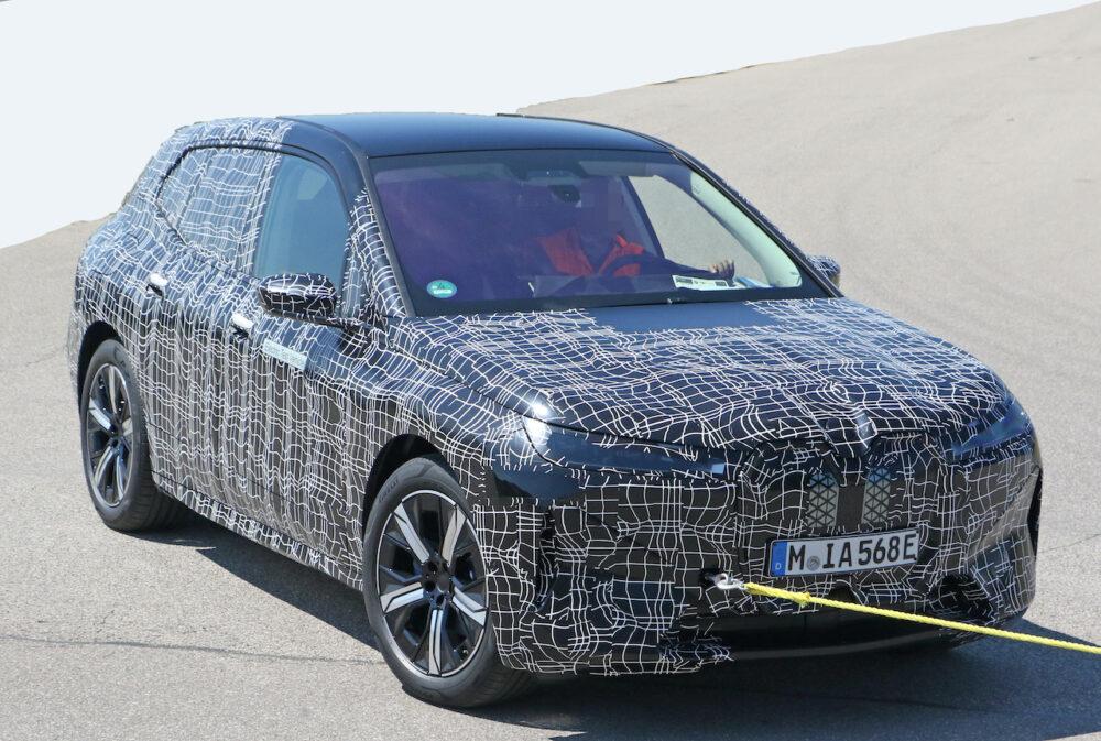 次期新型 BMW iX5 プロトタイプ スパイショット