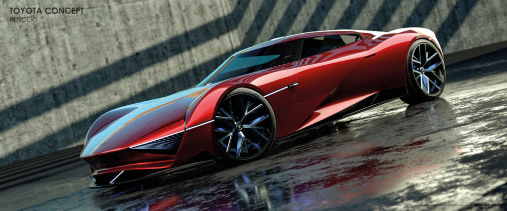 トヨタ H2+コンセプト デザイン予想CG ボディサイド