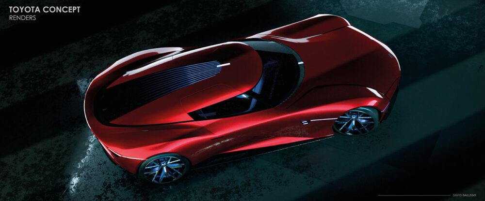 トヨタ H2+コンセプト デザイン予想CG 俯瞰