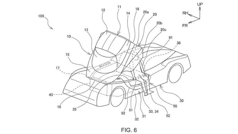 「GR スーパースポーツ(GR010)」の特許画像