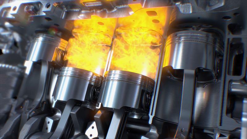 エンジンの燃焼