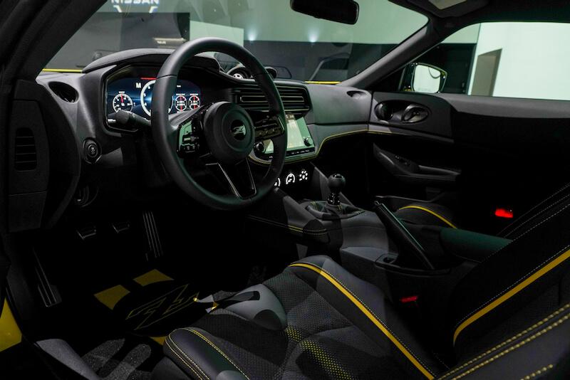 次期新型 日産フェアレディZ プロトタイプ インパネ