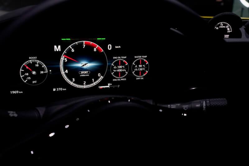 次期新型 日産フェアレディZ プロトタイプ メータークラスター