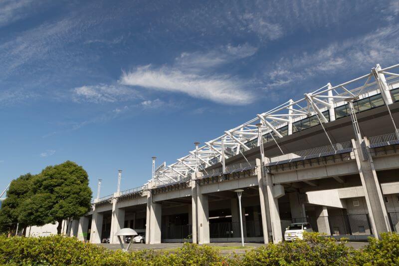 東京スタジアムの外観