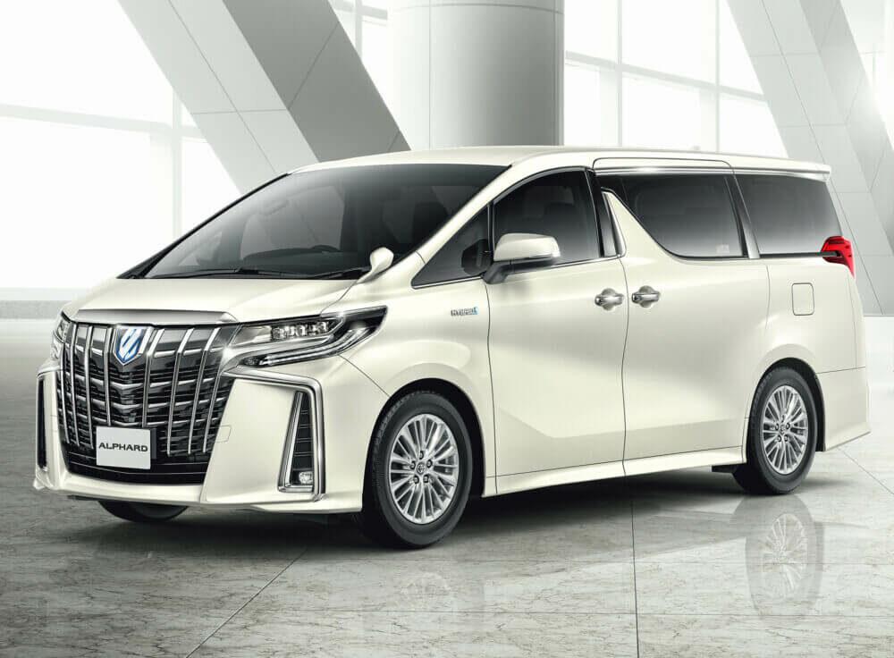 トヨタ 3代目アルファード 2020年モデル フロント