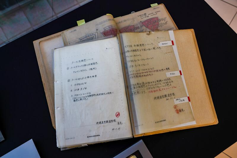 マツダ R360 クーペ の昭和36年(1961年)の開発資料 拡大