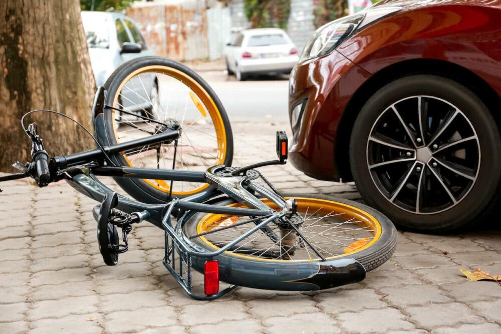 車と自転車の事故