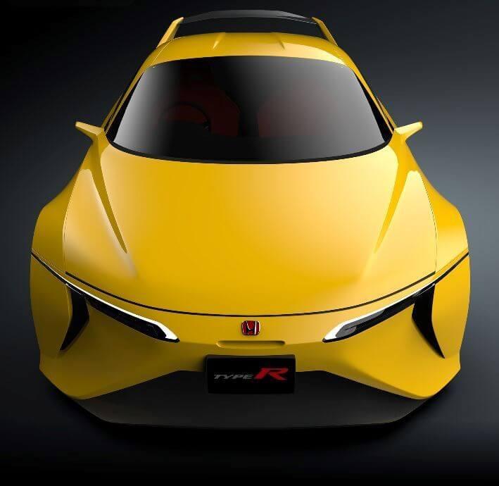 ホンダ インテグラ タイプR 復活新型予想デザインCG フロント