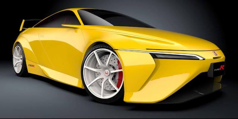 ホンダ インテグラ タイプR 復活新型予想デザインCG フロント・サイド