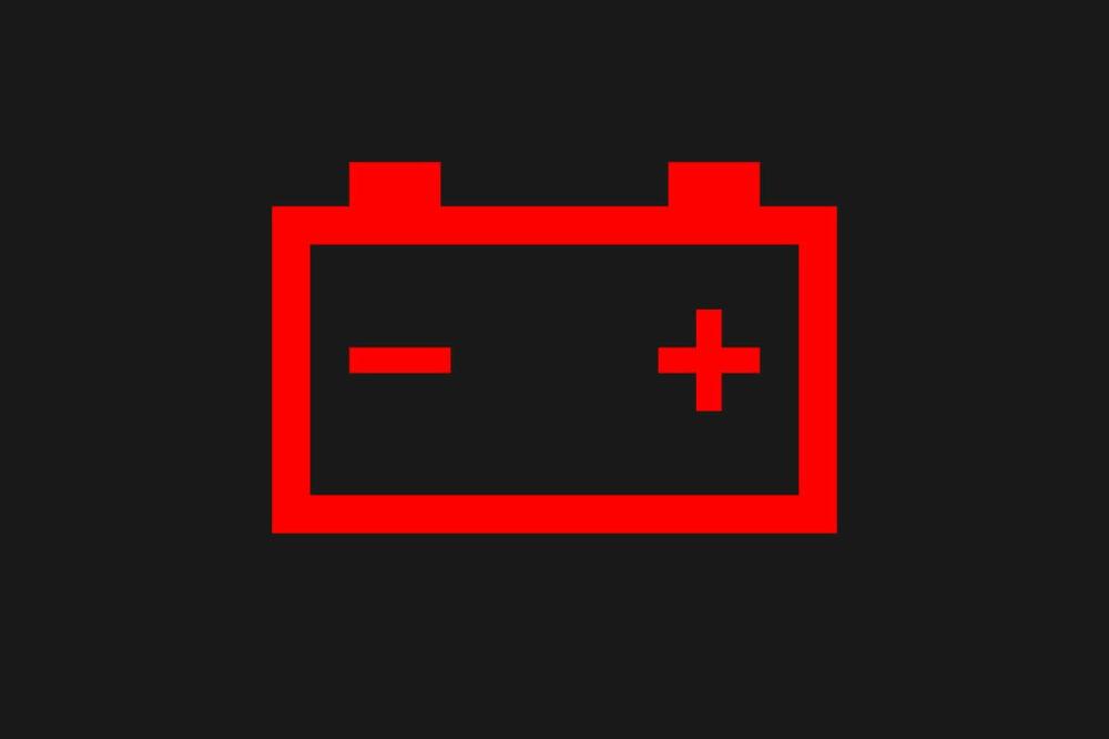 充電警告灯(バッテリーランプ・バッテリー警告灯)のマーク