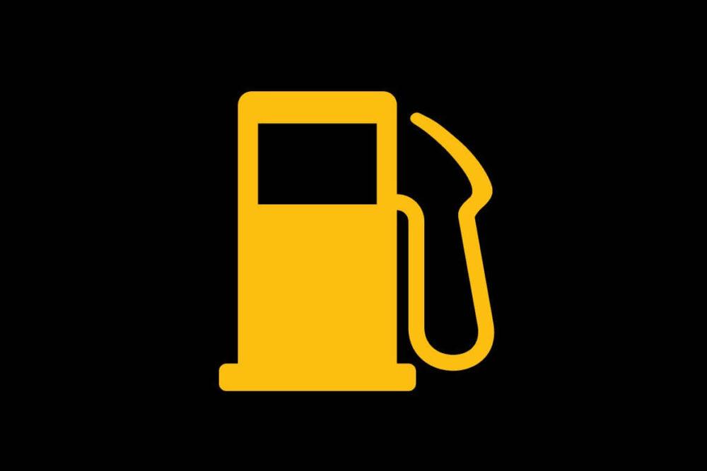 ガソリン残量警告灯のマーク