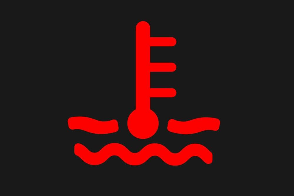 水温警告灯(赤)のマーク