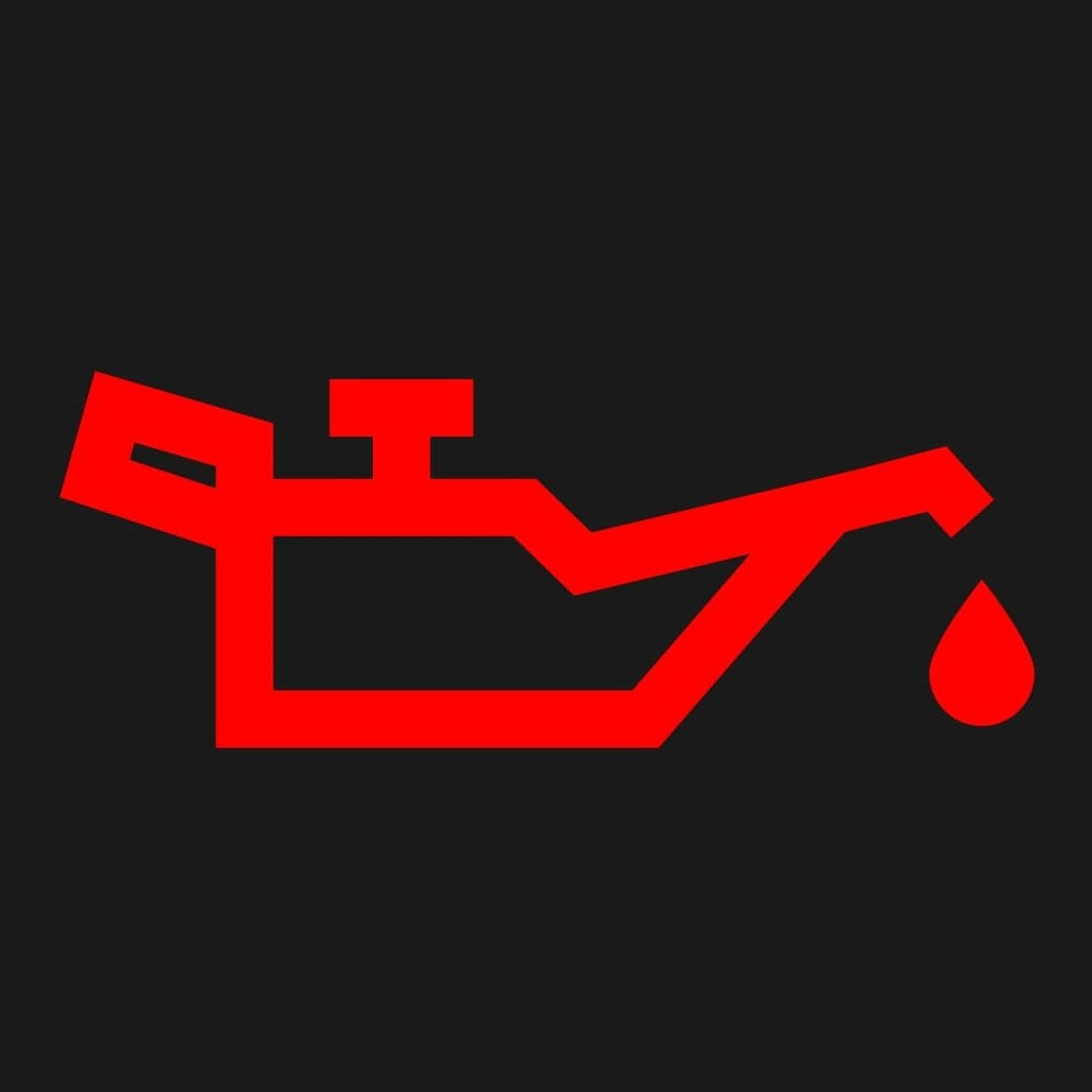 油圧警告灯のマーク