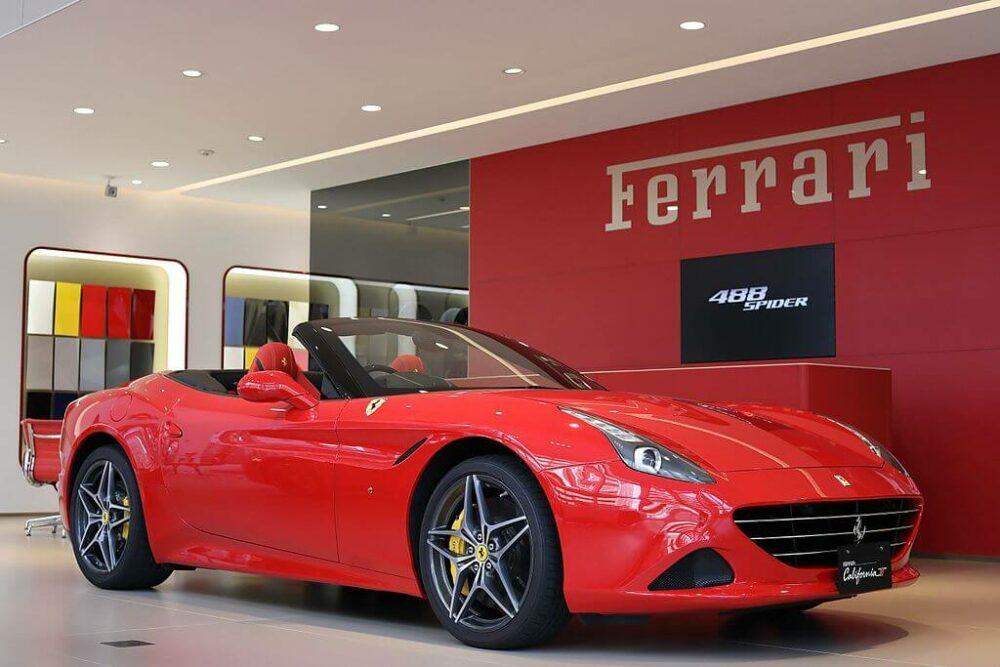 フェラーリ カリフォルニア T