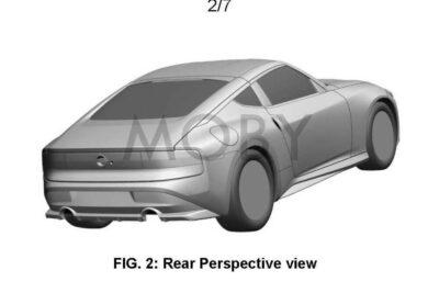 ついに新型日産フェアレディZ「400Z」市販車モデルの特許画像が公開!