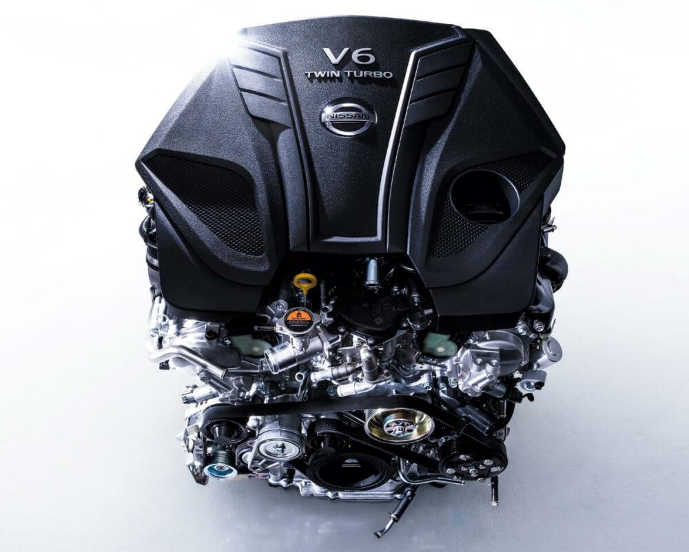 日産 スカイラインに搭載されているV型6気筒ツインターボエンジン「VR30DDTT」