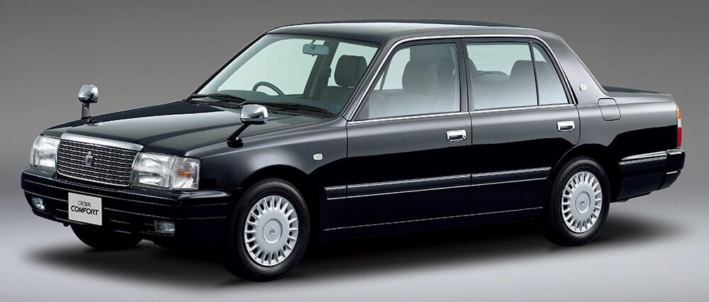タクシーなどにも利用されたトヨタ クラウンコンフォート