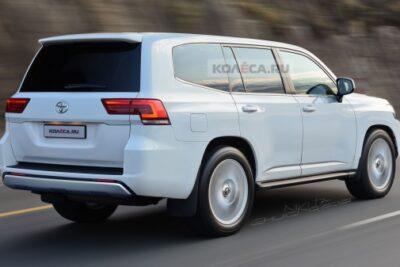 トヨタ次期新型ランクル300の図面がリーク?外装デザインが明らかに