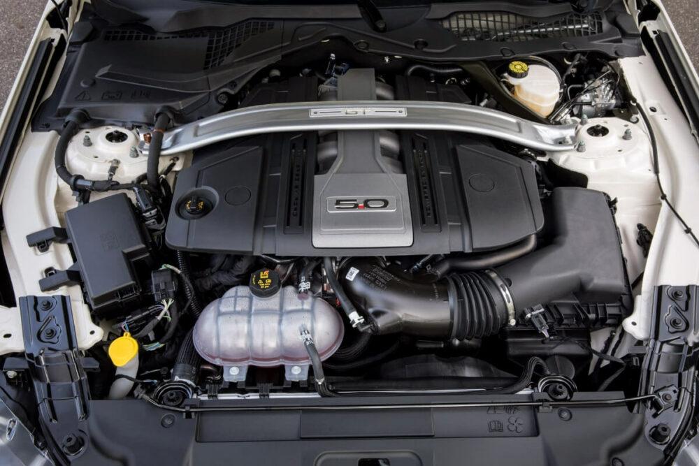 フォード マスタングGTのV8エンジン