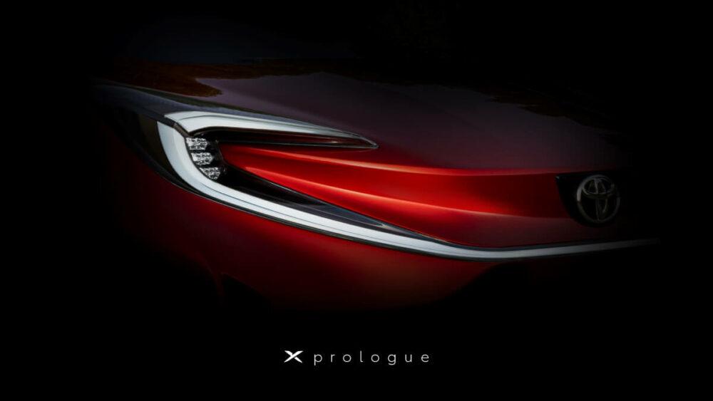 X prologue(Xプロローグ)のティザー画像