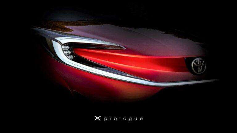 トヨタの新型車「Xプロローグ」の正式名称が商標登録から判明か?