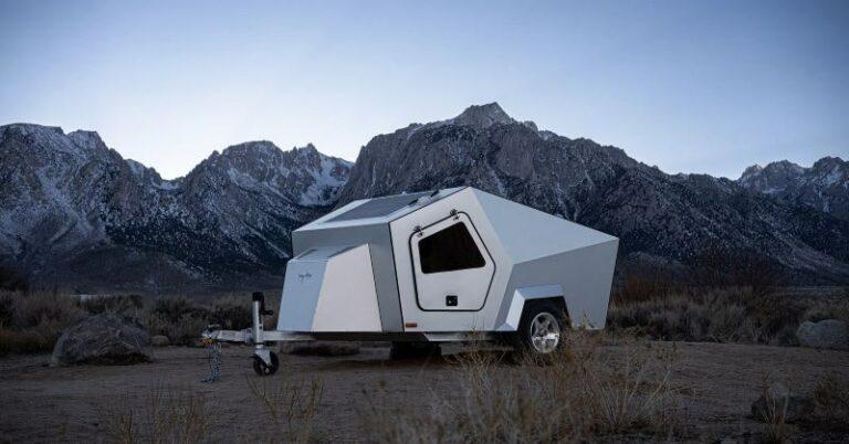 キャンプもEVで!テスラのサイバートラックにソックリなトレーラー発売