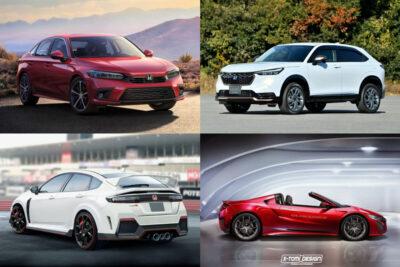 【ホンダ】新型車スクープ・モデルチェンジ予想&新車スクープ 9月最新情報