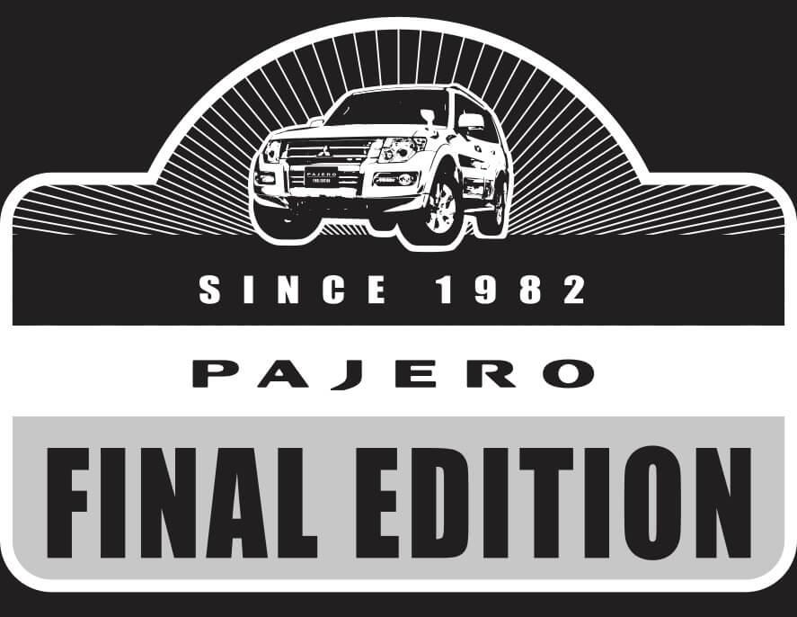 パジェロ ファイナルエディション(国内仕様)のロゴ