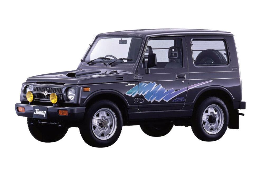 スズキ 2代目ジムニー JA11型(1990年)フロント