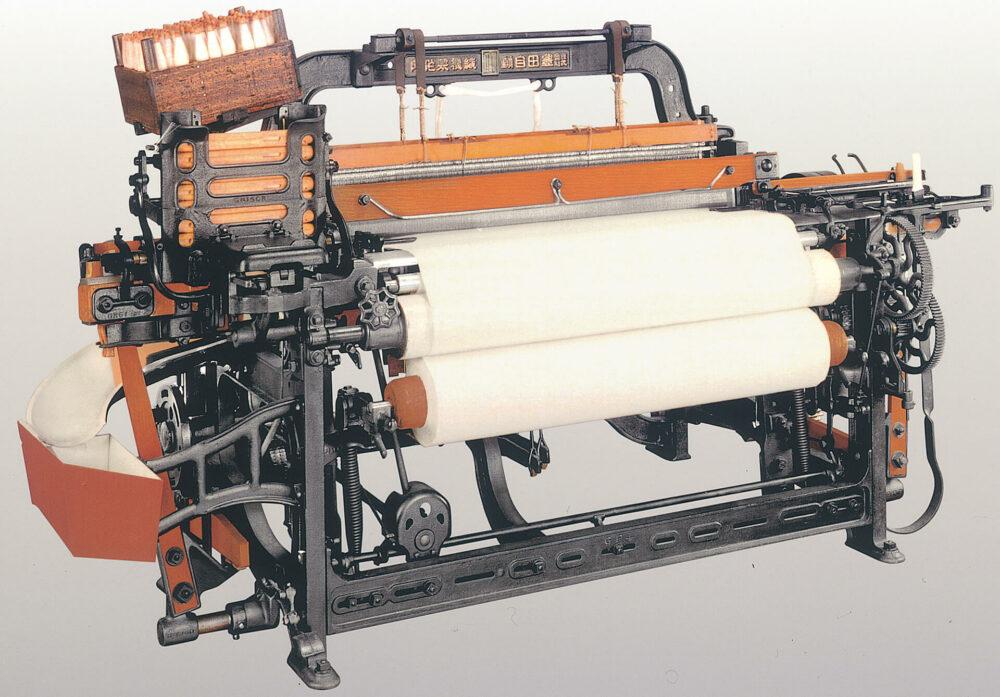 無停止杼換式豊田自動織機(G型) (1924年)