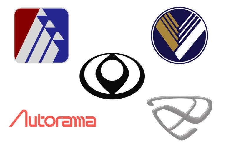 【車のクイズ】マツダの5チャンネル、ロゴだけでブランド名全部わかる?