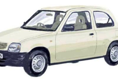 無印良品は車も販売していた!「MUJI+Car 1000」はまさに究極の実用車