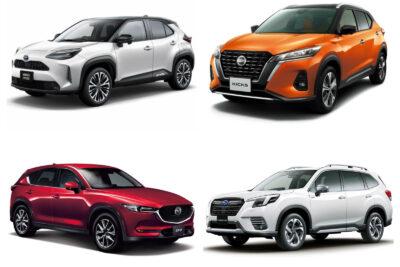 販売台数が多いSUVランキング|国産SUVの売れ筋は?2021年最新情報